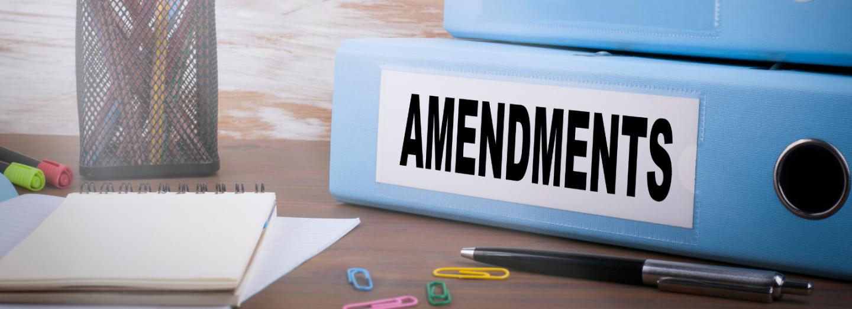 Amendments to the PDI Bill